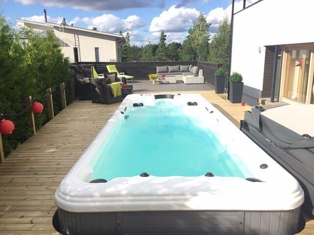 Swimming pool SR870 in Finland