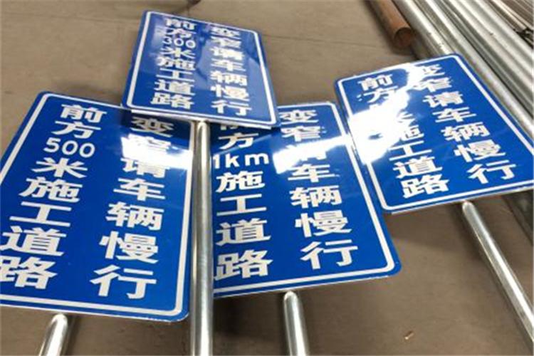单柱式交通标志杆供应商