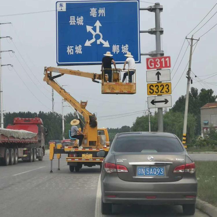 供应道路标志杆