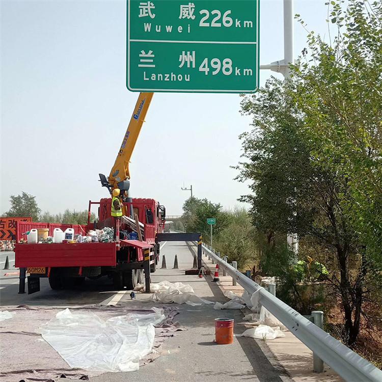 生产公路标志杆