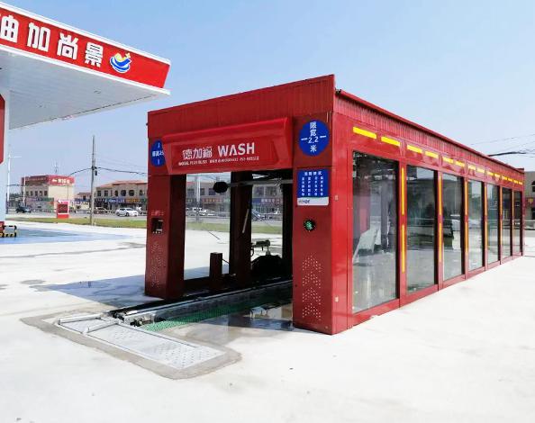 山东东营景尚加油站