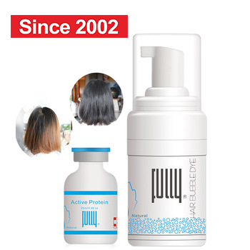 FULLY 2nd generation physical whashable hair dye foam