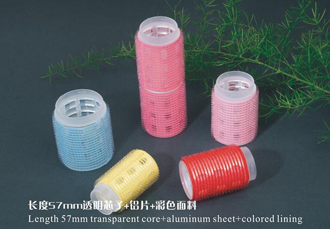 连接式透明芯加铝彩面发卷组合