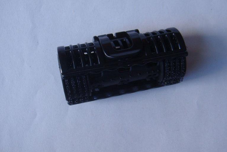 黑色杠铃加夹子2.4发卷