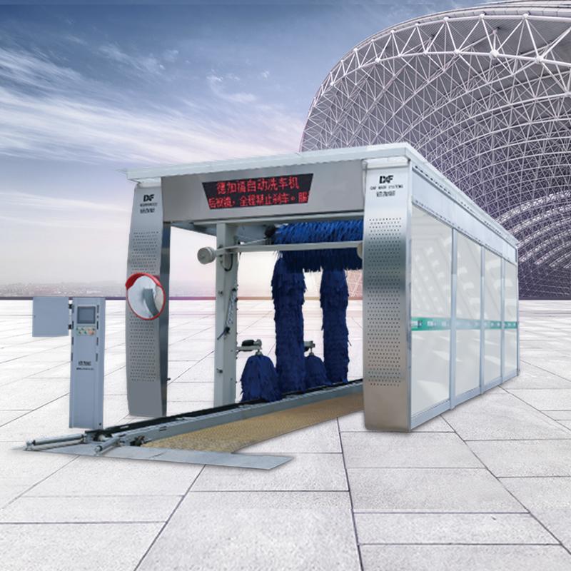 9刷隧道式洗车机