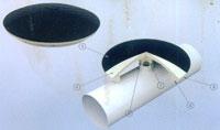 球缺型盘式微孔曝气器