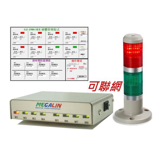 Megalin GZ-1980 可联网设备接地监测器