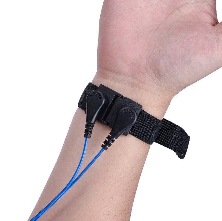 双夹双回路防静电手腕带