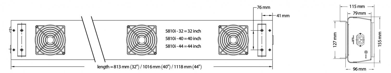 5810i悬挂型离子风机