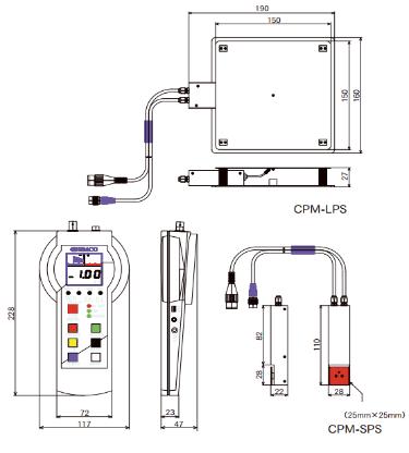 CPM EA-5J 手持式测量仪
