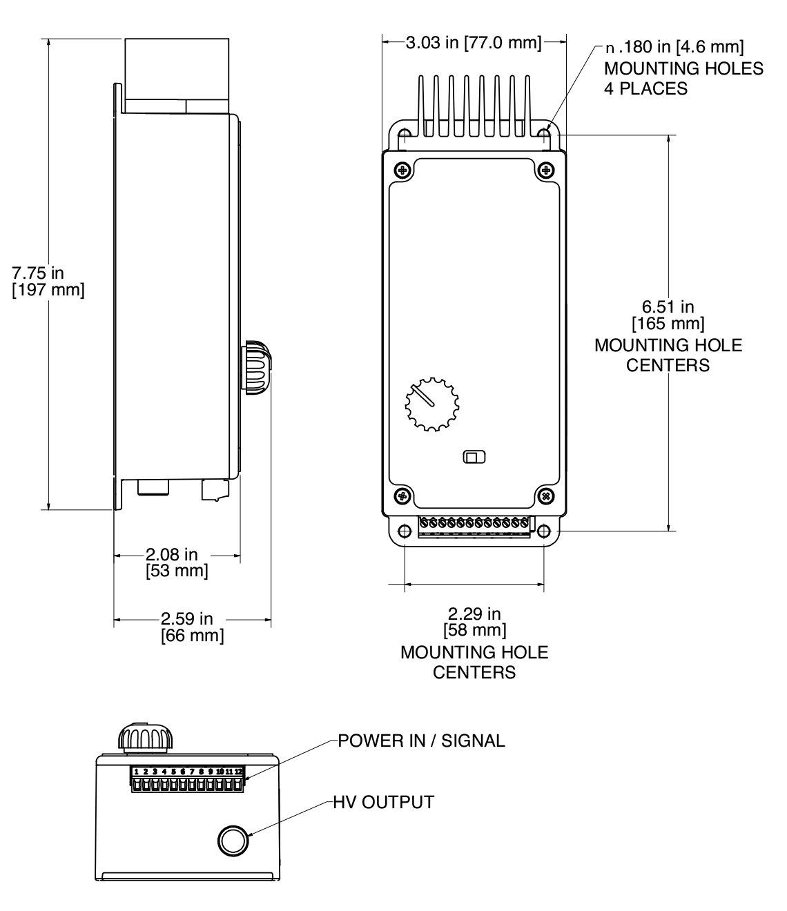 MCM30 高压发生器