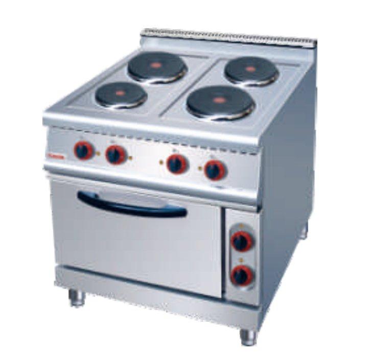 ZH-TT-4四头电煮食炉连电焗炉