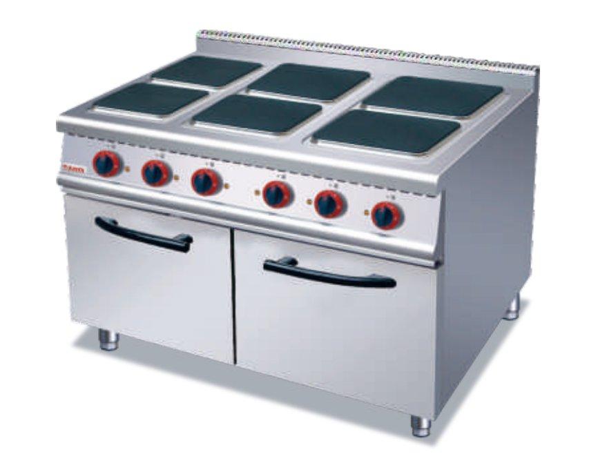 ZH-TE-6A六头电煮食炉连柜座