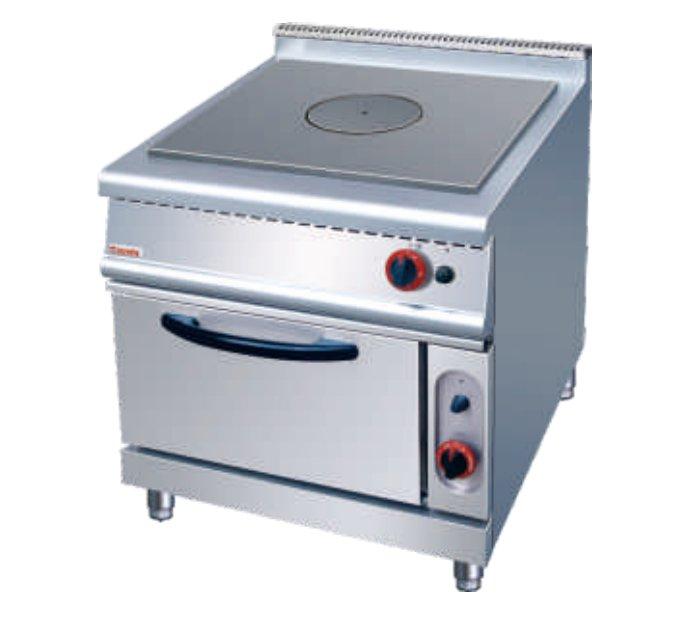 ZH-RT法式燃气热铁板炉连焗炉