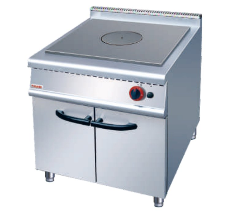 ZH-RE法式燃气热铁板炉连柜座