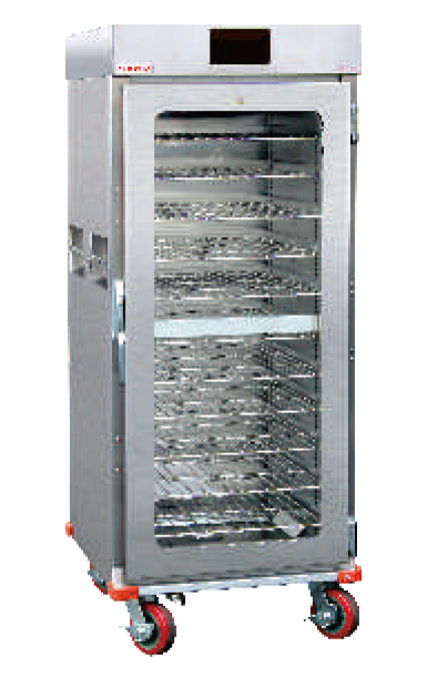 WA-E-11-B单玻璃门保温餐车