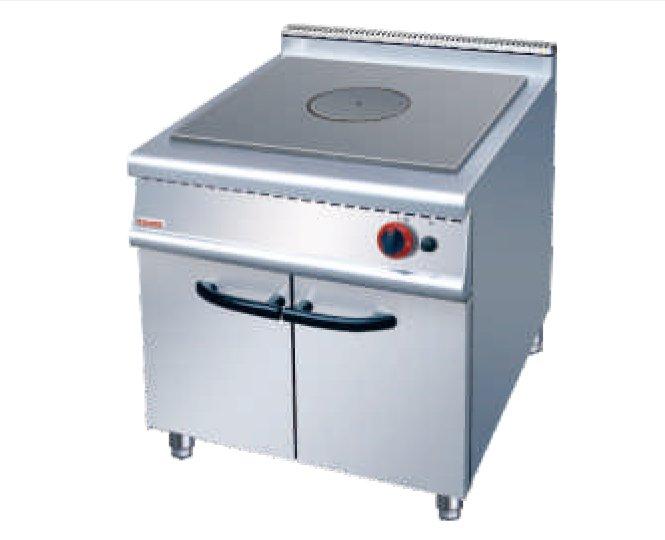 JZH-RE法式燃气热铁板炉连柜座