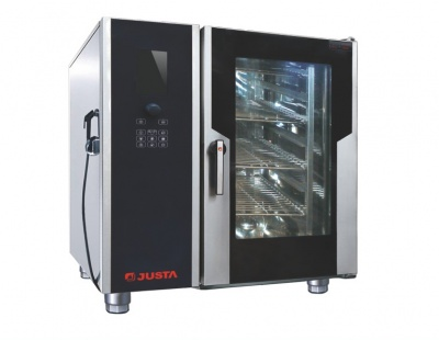 JO-G-Y61六层液晶版燃气万能蒸烤箱(锅炉)