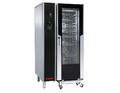 JO-G-Y201二十层液晶版燃气万能蒸烤箱