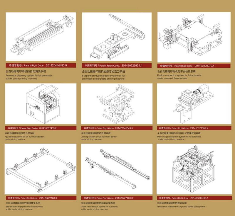 全自动锡膏印刷机结构
