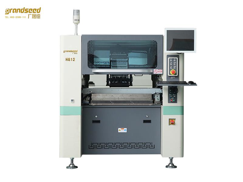 LED锡膏印刷机和LED贴片机