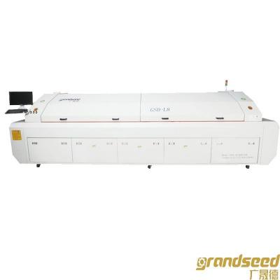 SMT八温区无铅回流焊机GSD-L8
