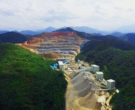 广东肇庆粤建矿业整包生产线项目