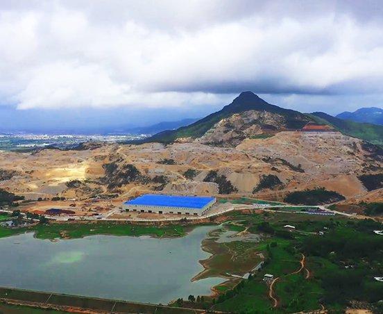 福建小光山年产2000万吨机制砂项目