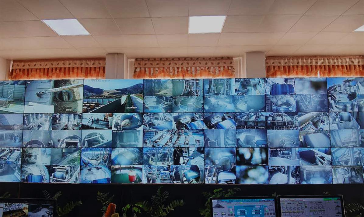 泰盛石場智能監控室