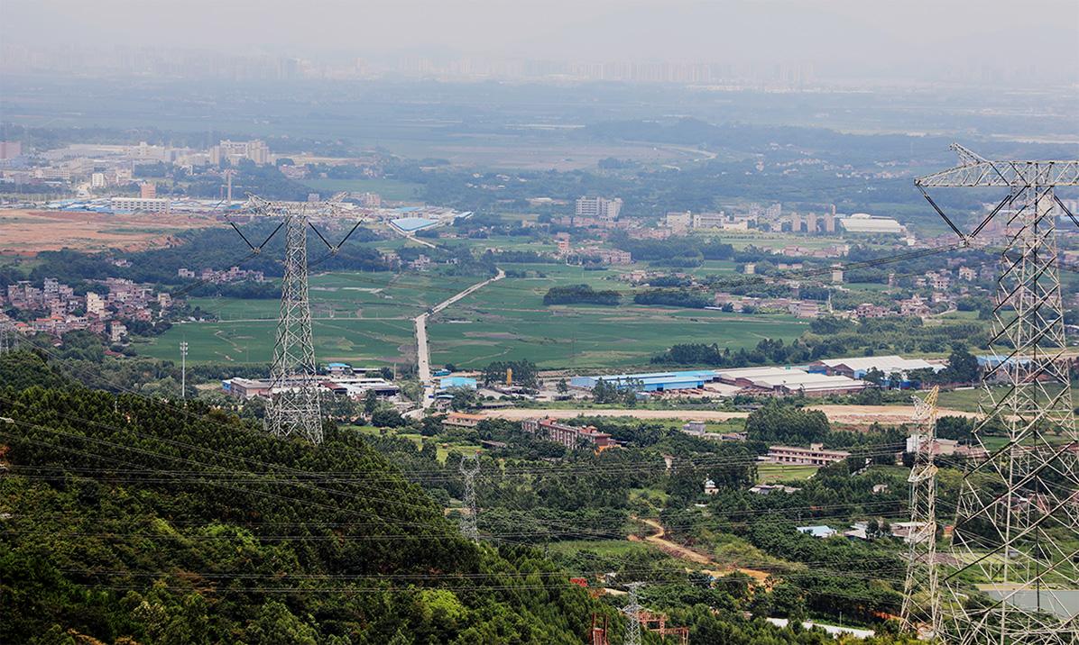谷城砂石骨料生产线全景