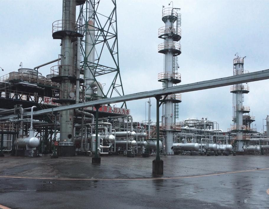中石油遂宁磨溪天然气净化厂