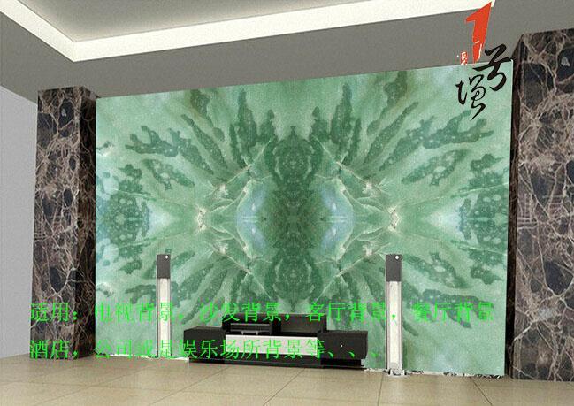 黄石飞龙在天大理石电视背景墙