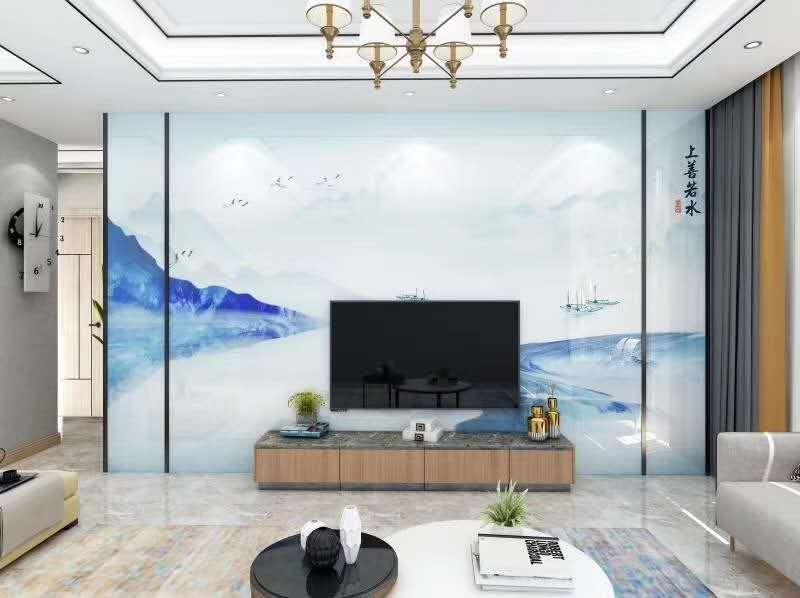 背景墙—水墨风格背景墙—山水简约背景墙(86)