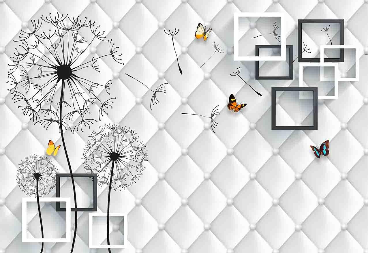 一号墙抽象背景墙