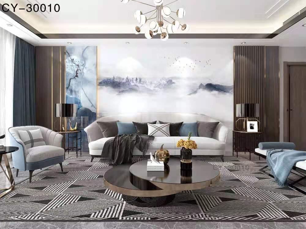 一号墙电视背景墙厂家2020新款YHQ-10010