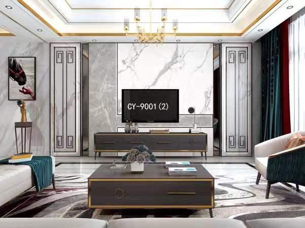 一号墙电视背景墙 罗马柱背景墙 悬空背景墙YHQ-9001