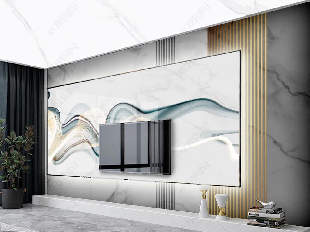 高档大气石纹大板石材大理石纹背景墙
