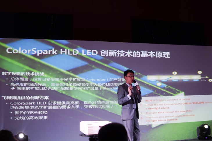 Long life highlight boxlight to release HLD light source LCD projector