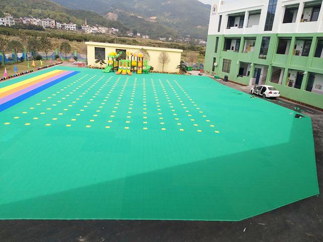 长沙市河西智谷科技广场悬浮地板案例