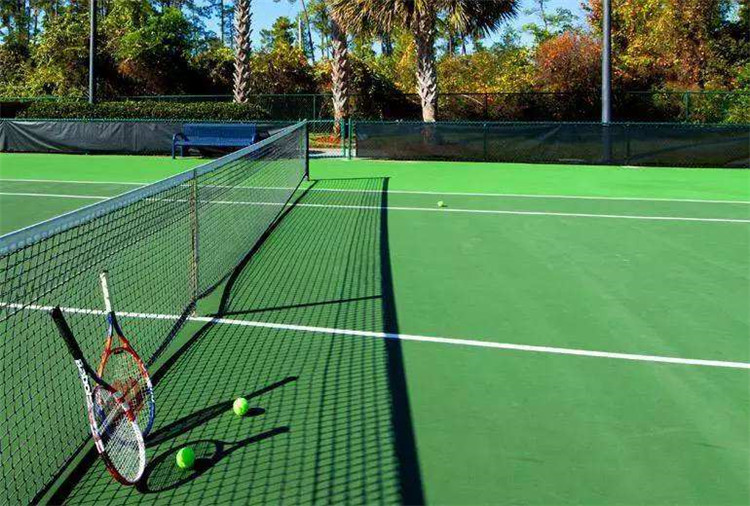 塑胶网球场案例
