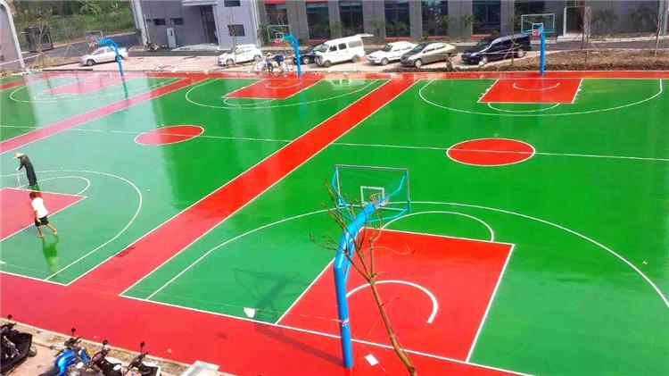 硅pu塑胶球场案例