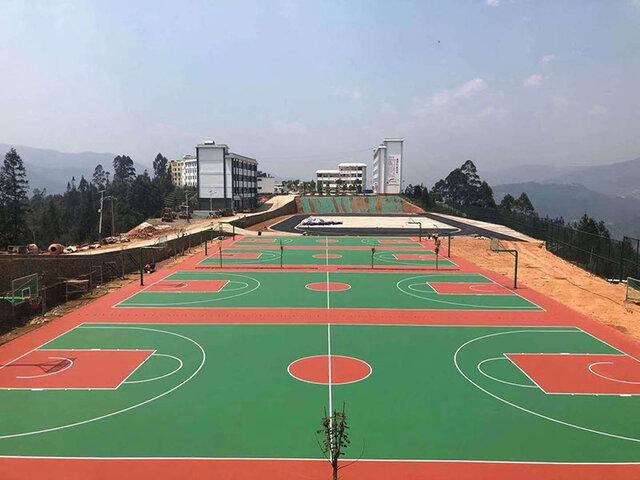 云南硅PU球场