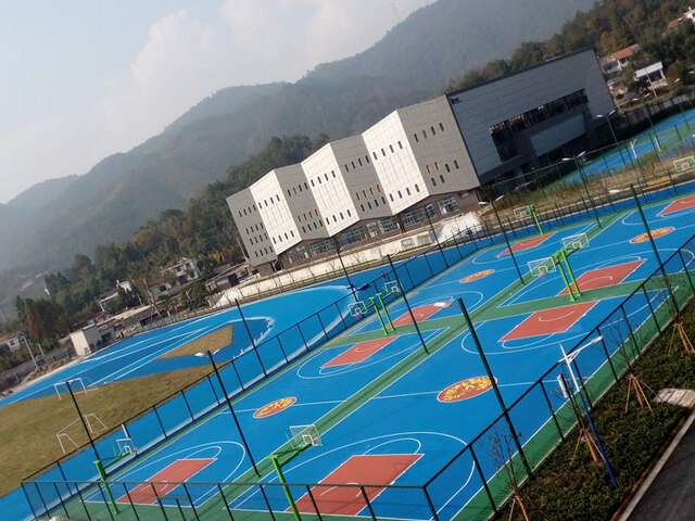 杭州塑胶球场案例