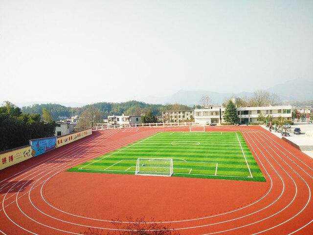 九江塑胶跑道案例