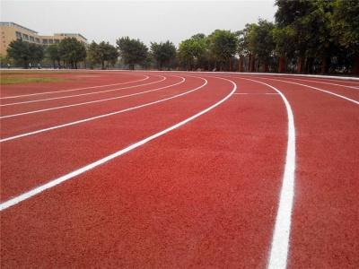 运动场塑胶跑道施工