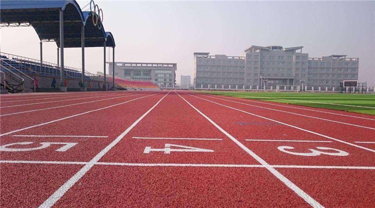 塑胶跑道运动场施工