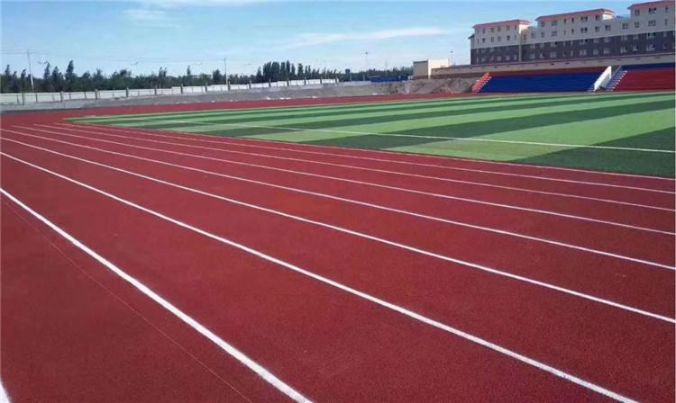 中学运动场塑胶跑道