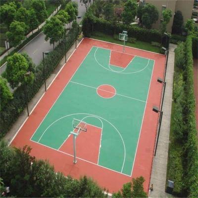 篮球场塑胶工程