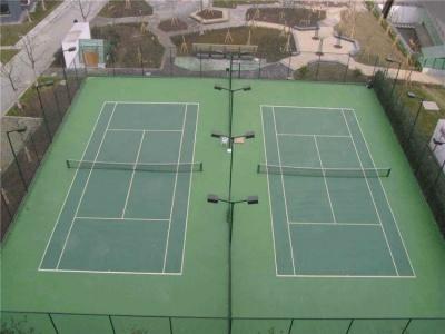 塑胶跑道网球场