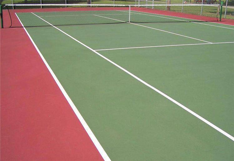 室外塑胶网球场建设